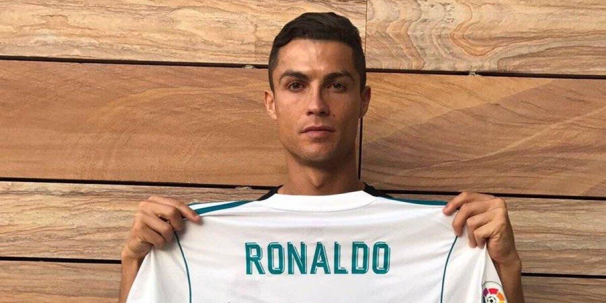 Cristiano Ronaldo dedica playera a niño fallecido en el Colegio Rébsamen