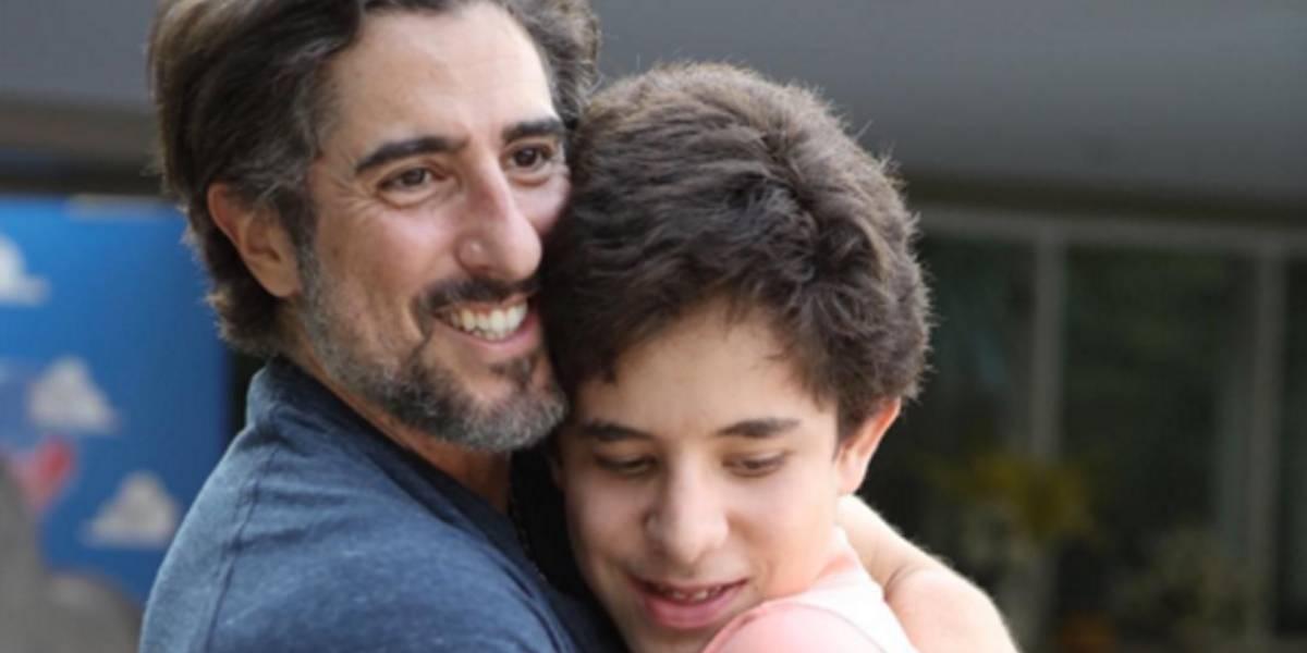 Em show, banda Jota Quest faz homenagem a filho de Marcos Mion