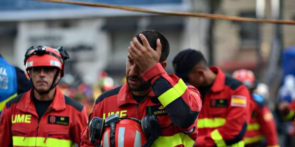 Paciencia y fe en la búsqueda de víctimas del terremoto en México