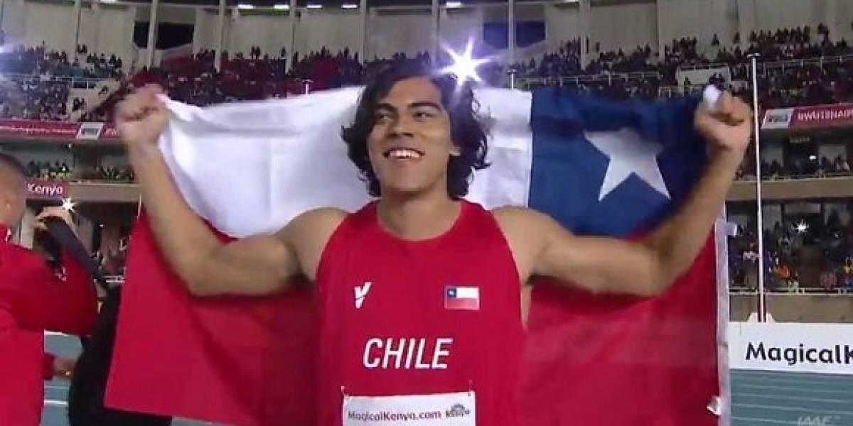 Este es de verdad: Claudio Romero volvió a romper el record sudamericano juvenil del disco