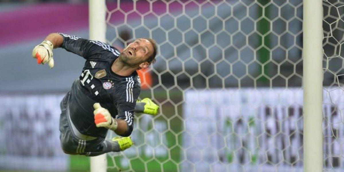El Bayern de Vidal sufre por la lesión de Neuer e inscribió en la Champions a arquero retirado