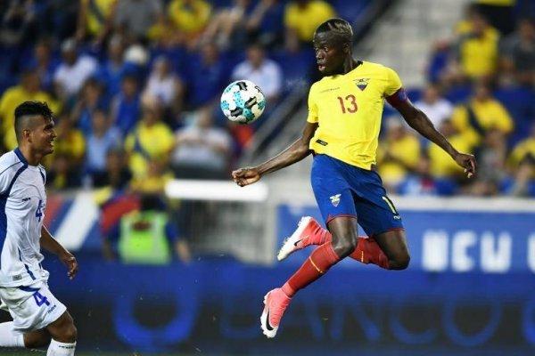 Enner Valencia comanda la nómina de Ecuador / imagen: AFP
