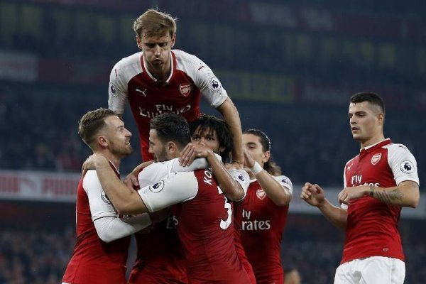 Arsenal y Alexis celebraron en la Premier / imagen: AFP