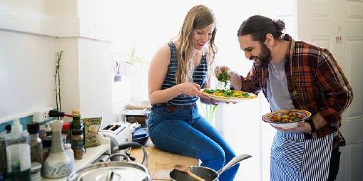 Gustos alimenticios cambian al estar en una relación
