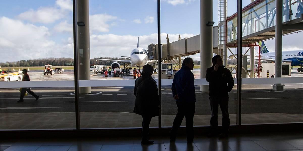 Tráfico aéreo internacional crece 16,5% entre enero y agosto y llega a mayor alza de últimos cinco años