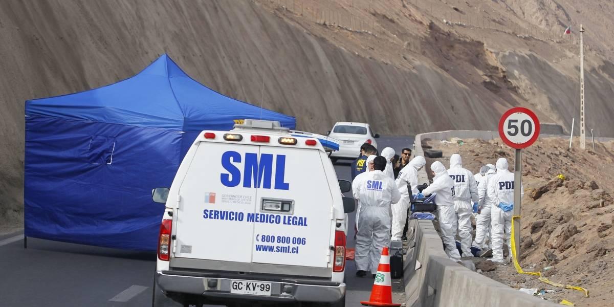 PDI realizó gran operativo para detener a presunto autor de crimen de boliviana