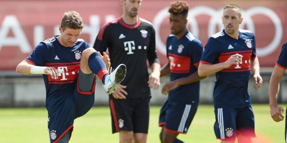 El Bayern Múnich inscribe a un jugador retirado en su lista para la Champions