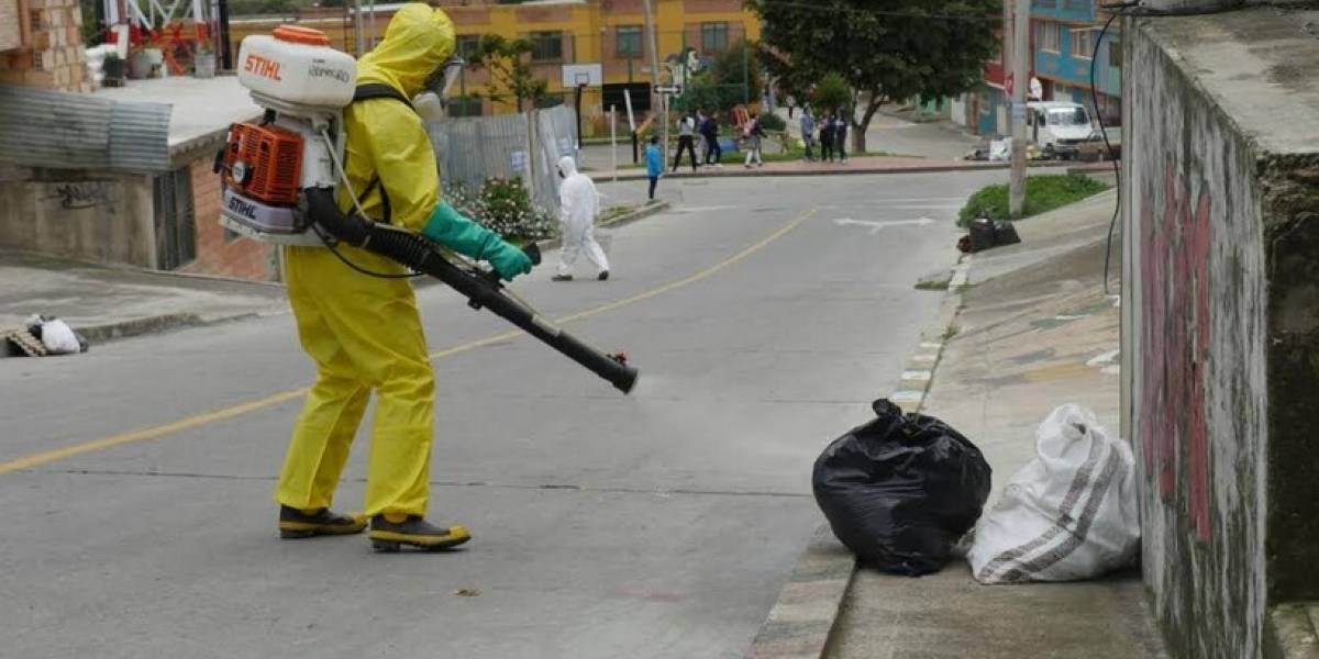 Estas son las acciones de la Secretaría de Salud para eliminar plagas en sectores aledaños a Doña Juana