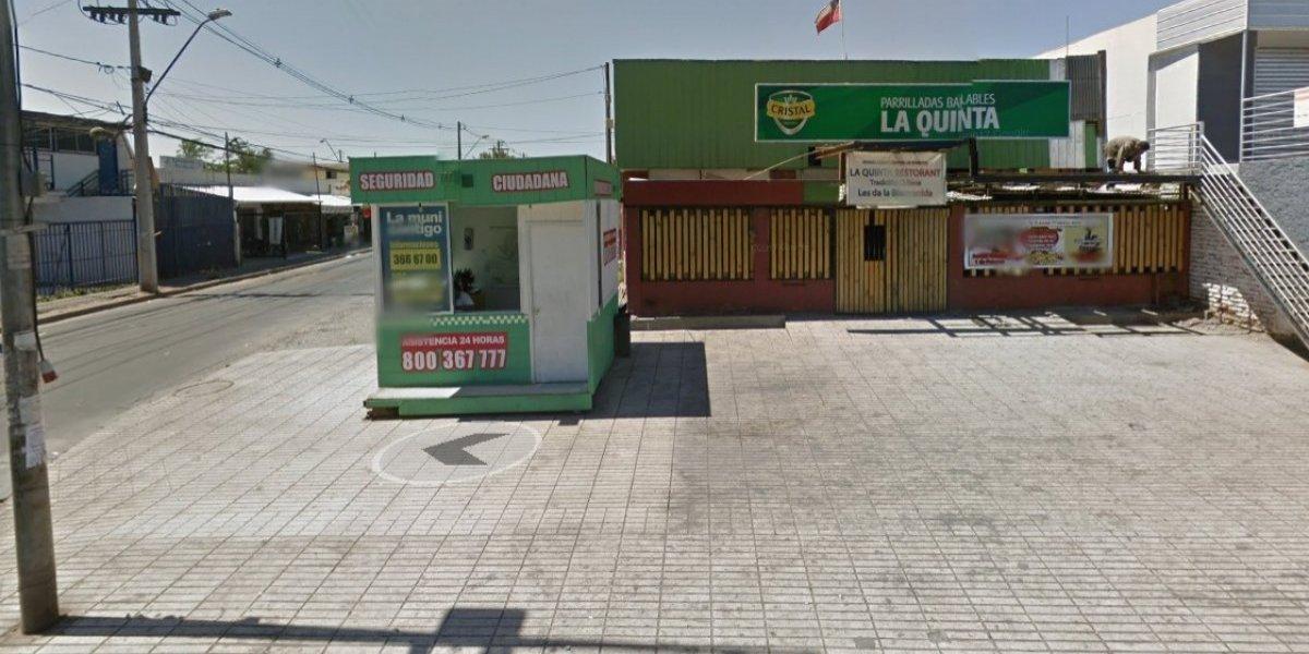 """Balacera en disco """"The Castle"""" en Quilicura: hay una caseta de seguridad en la misma cuadra donde ocurrió la tragedia"""