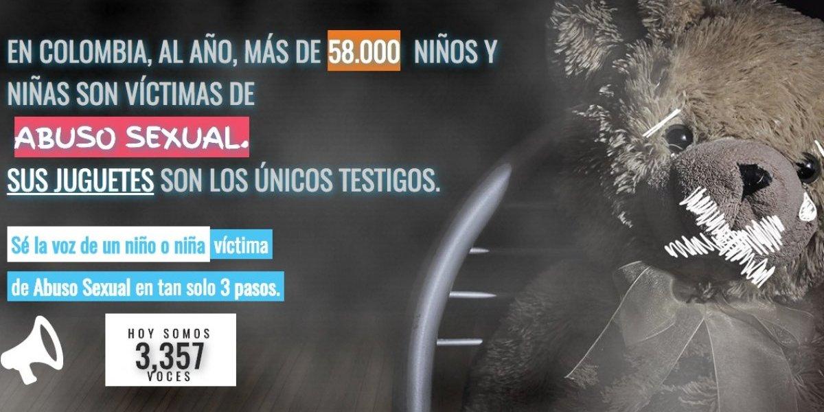 Más de 58 mil menores son víctimas de abuso sexual en Colombia según ONG