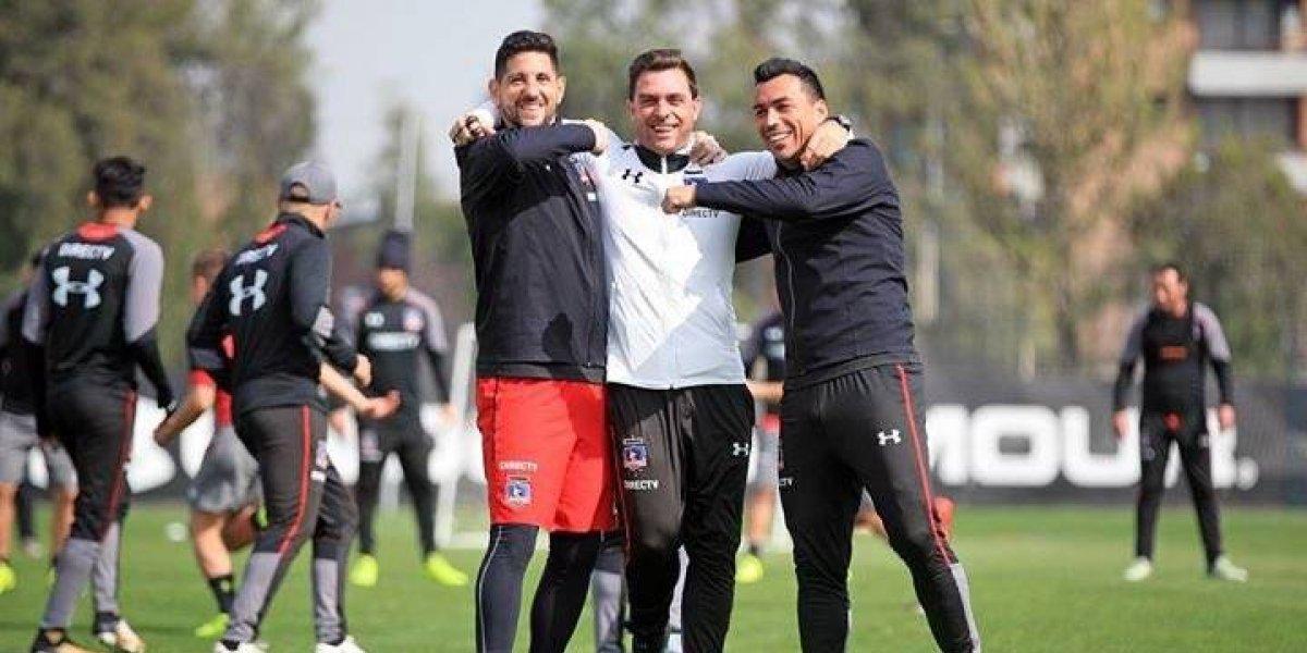 Colo Colo ironizó con supuestas rencillas entre Pablo Guede y Paredes