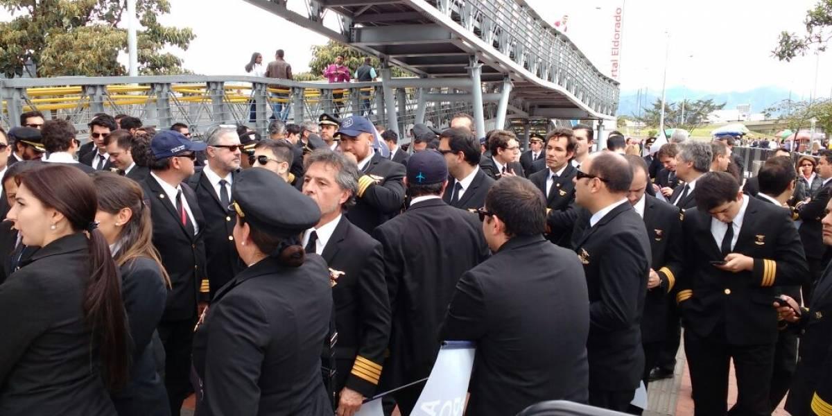 Marcha de pilotos de Avianca podría afectar la movilidad en la calle 26