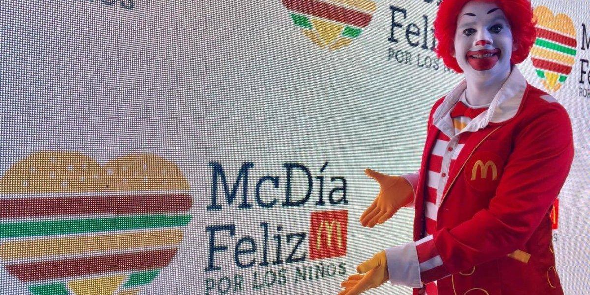 Esperan vender más de medio millón de hamburguesas en el McDía Feliz