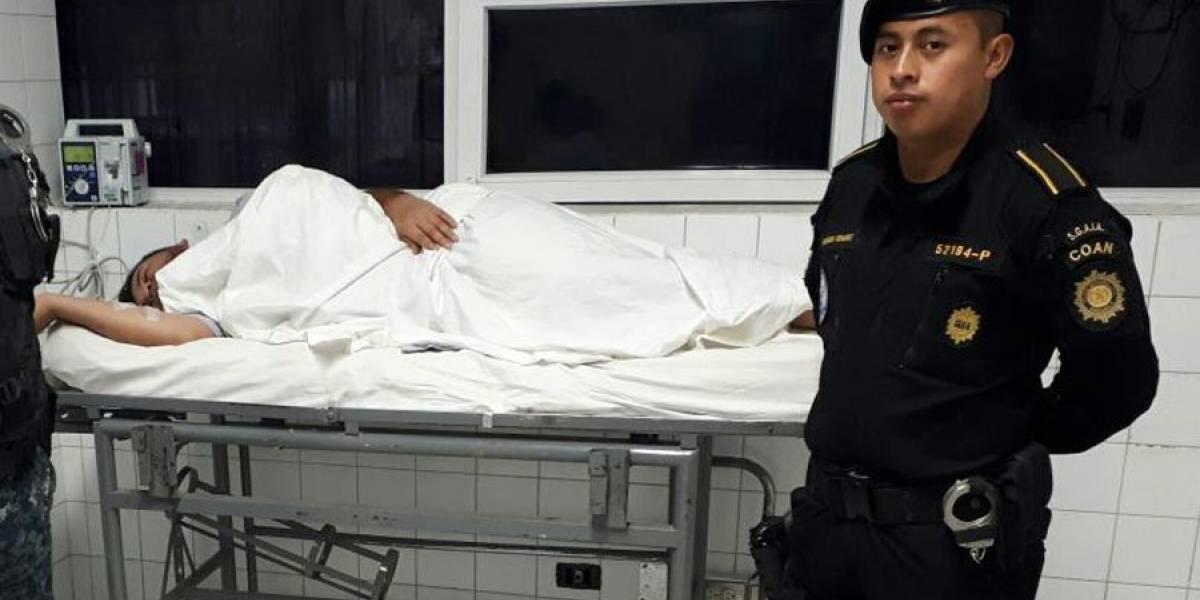 Persona que transportaba droga en su organismo ha expulsado casi 70 pepas