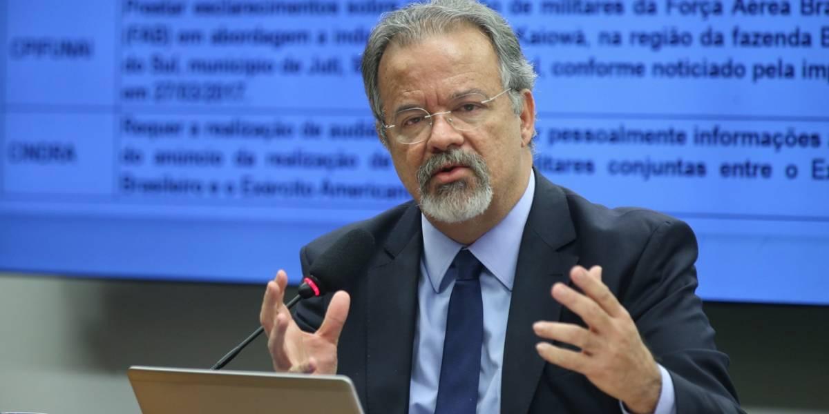 Jungmann diz que munições usadas no caso Marielle foram roubadas na Paraíba 'anos atrás'