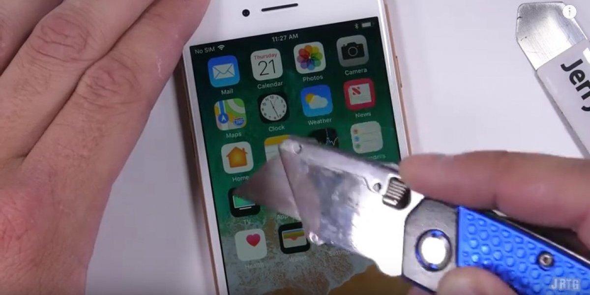 ¿Cuánto daño es capaz de resistir el nuevo iPhone 8?