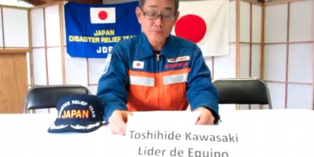 'Gracias por las voces de ánimo', se despide equipo japonés de rescate
