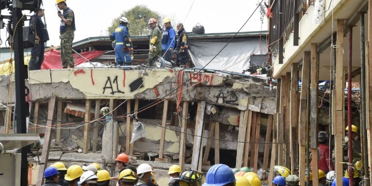 Terremoto en México: Escuela derrumbada funcionaba con permiso falso, señalan medios
