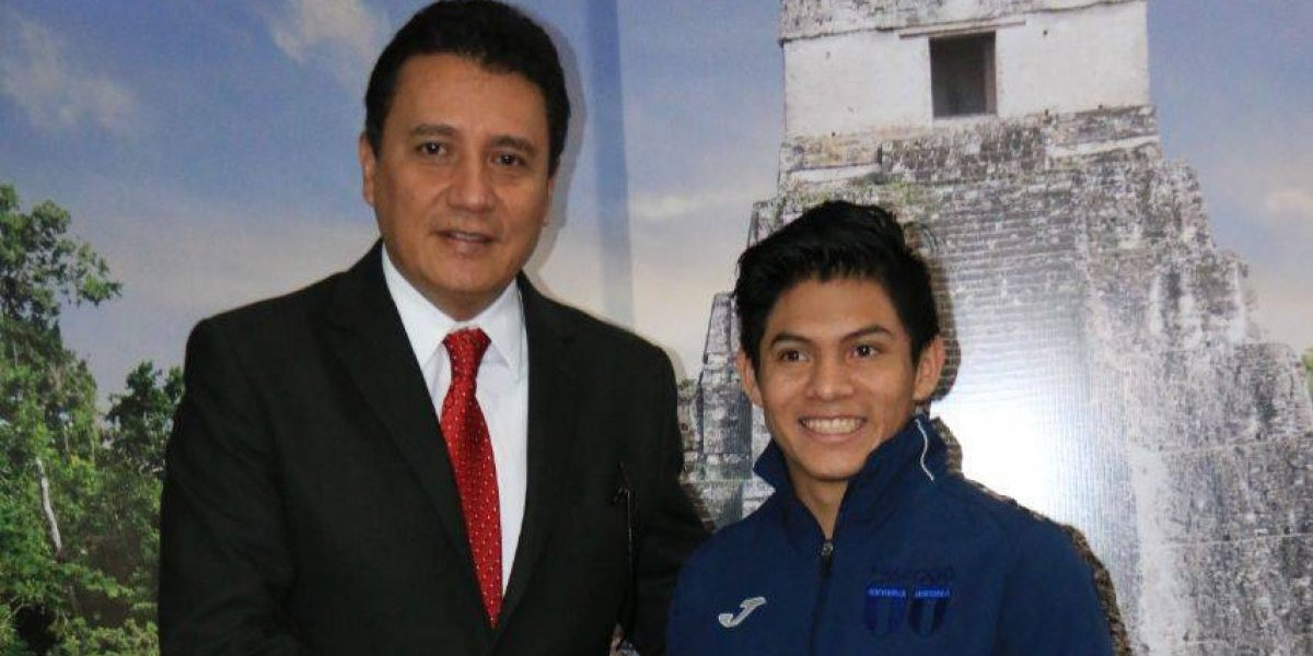 Jorge Vega da un salto para representar a Guatemala en otra faceta importante