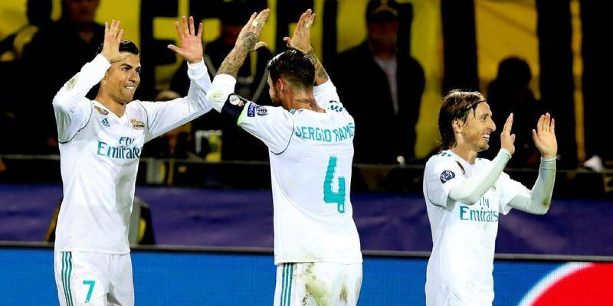 Real Madrid venció al Dortmund en Champions a punta de polémica y jerarquía