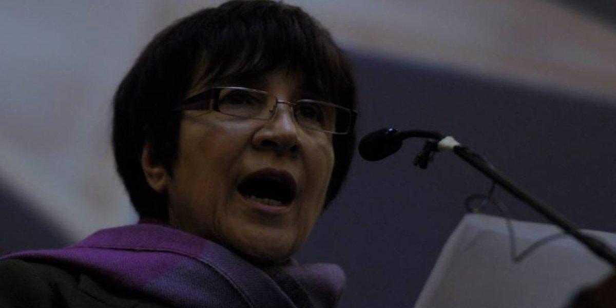 """Carmen Hertz: """"es indignante que el ministro de Defensa asegure que no existen antecedentes sobre crímenes de exterminio"""""""