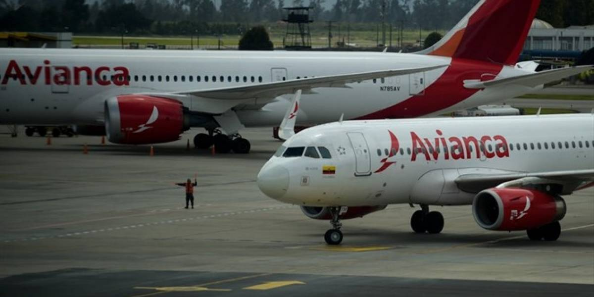 Avianca cancela 51 % vuelos en Colombia y suspende ventas hasta el 5 octubre