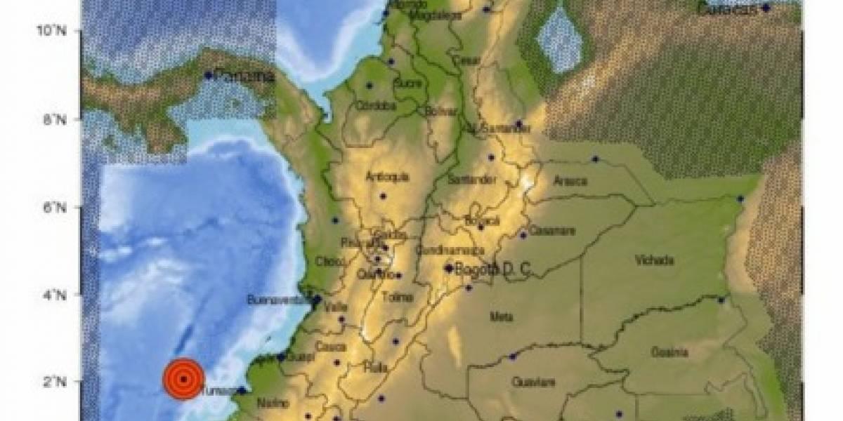 El sismo de 5,7 en Tumaco del lunes ¿nunca existió?