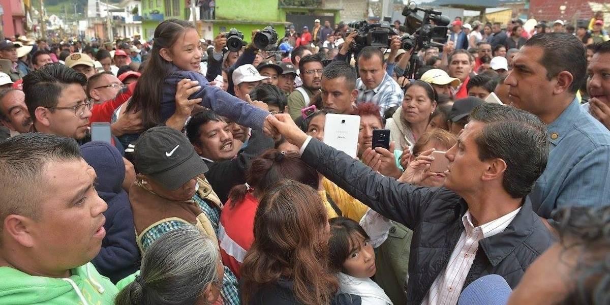 Prioridad, el rescate de atrapados: Peña Nieto