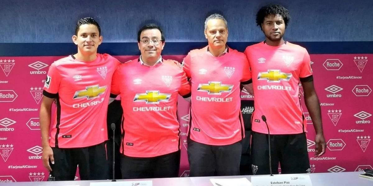 Liga de Quito sacó nueva camiseta