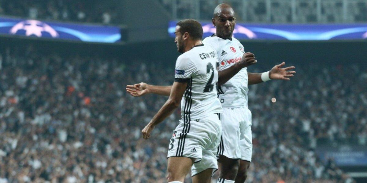 Así vivimos la celebración de Medel y su Besiktas por Champions League