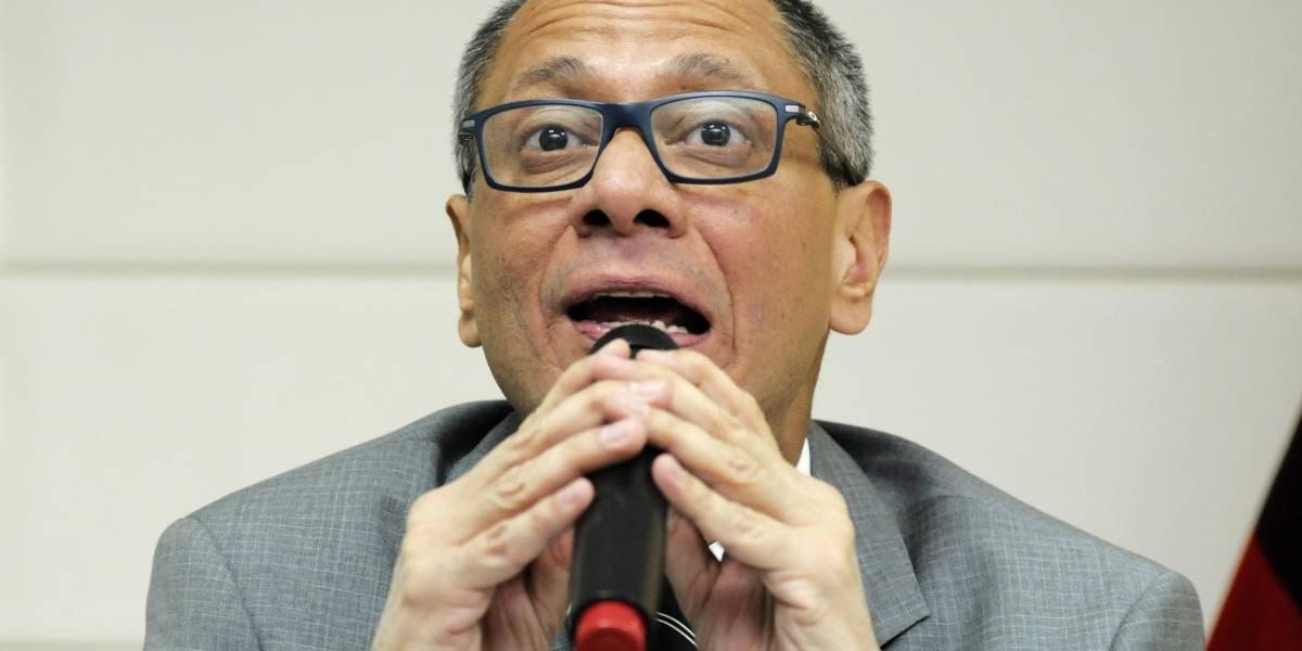 Jorge Glas amplió su versión ante la Fiscalía en el caso Odebrecht