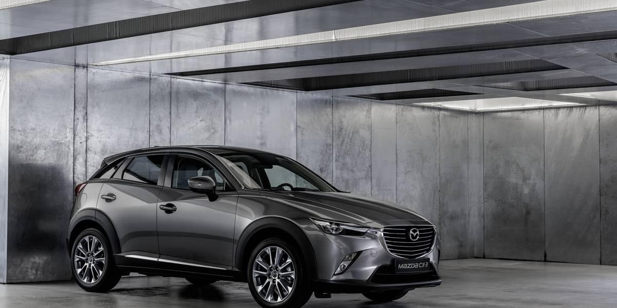 Sumando tecnología, el Mazda CX-3 se renueva para 2018