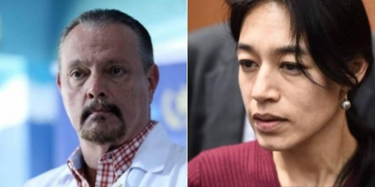 Ministro de Salud critica a Lucrecia Hernández y los usuarios le responden