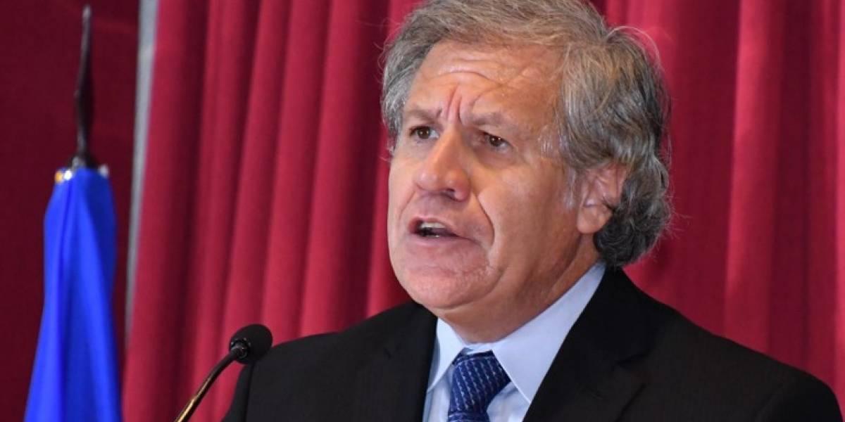OEA pide a comunidad internacional más sanciones contra Venezuela