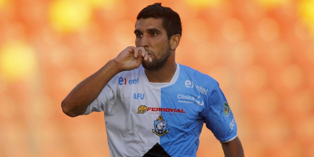 Muriel Orlando, el único jugador que sufre por el buen momento de Antofagasta