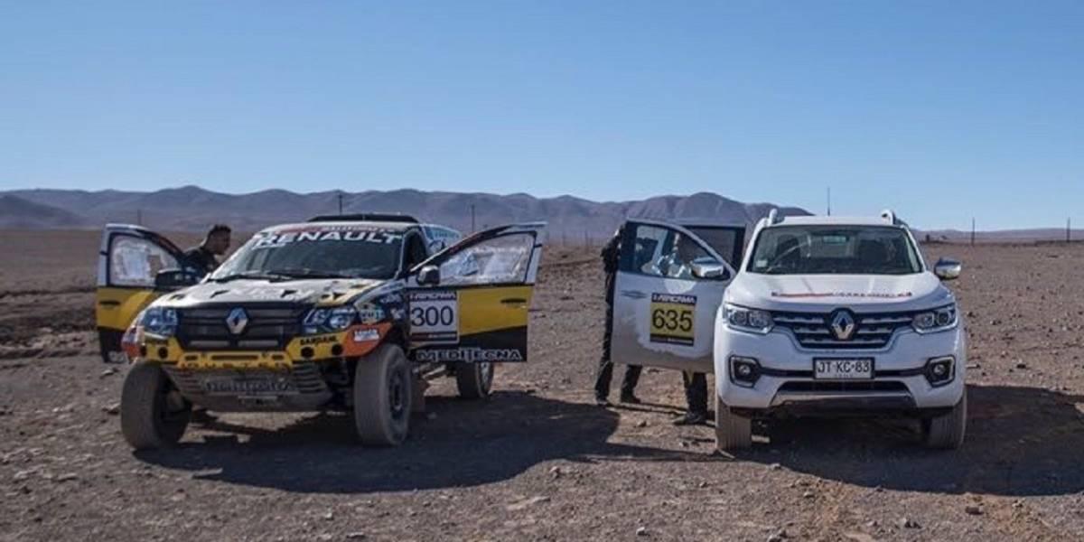Renault prueba su Alaskan en el desierto de Atacama