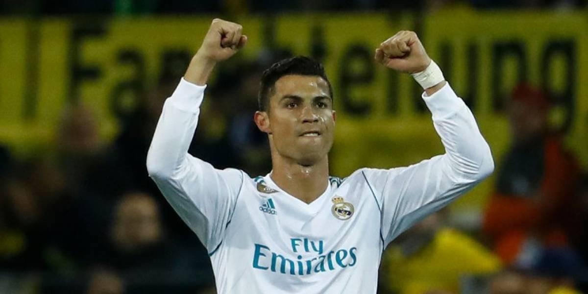 Cristiano rompe la maldición del Madrid en Dortmund