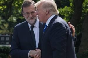 Mariano Rajoy y Donald Trump
