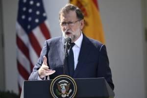 Mariano Rajoy en la Casa Blanca