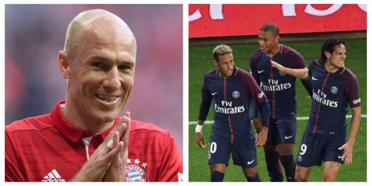 Robben lanza una polémica indirecta al PSG antes del partido de Champions