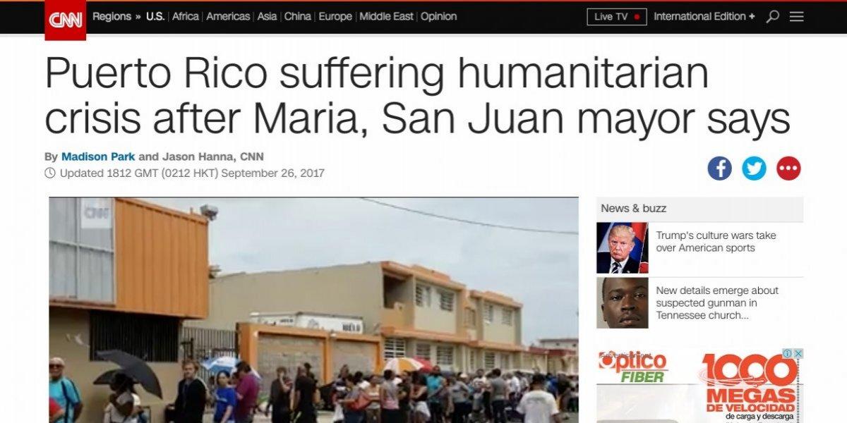 Prensa estadounidense y mundial informa sobre crisis en Puerto Rico