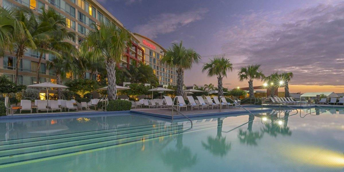 Clave el hotel Sheraton P.R. en emergencia por huracán María