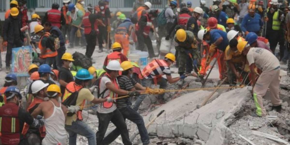 Suben a 331 los muertos por el terremoto en México