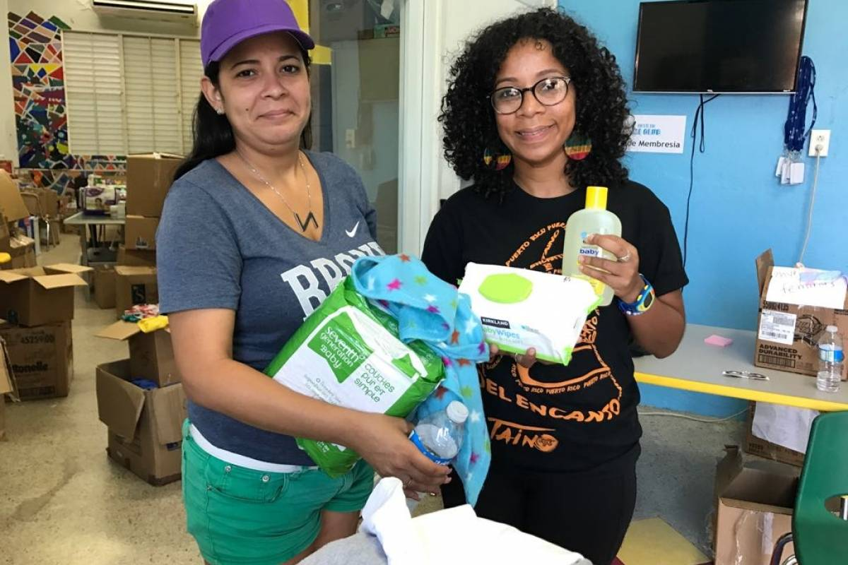 """""""Que no se olviden de Vieques, por favor"""", dijo Neysha."""
