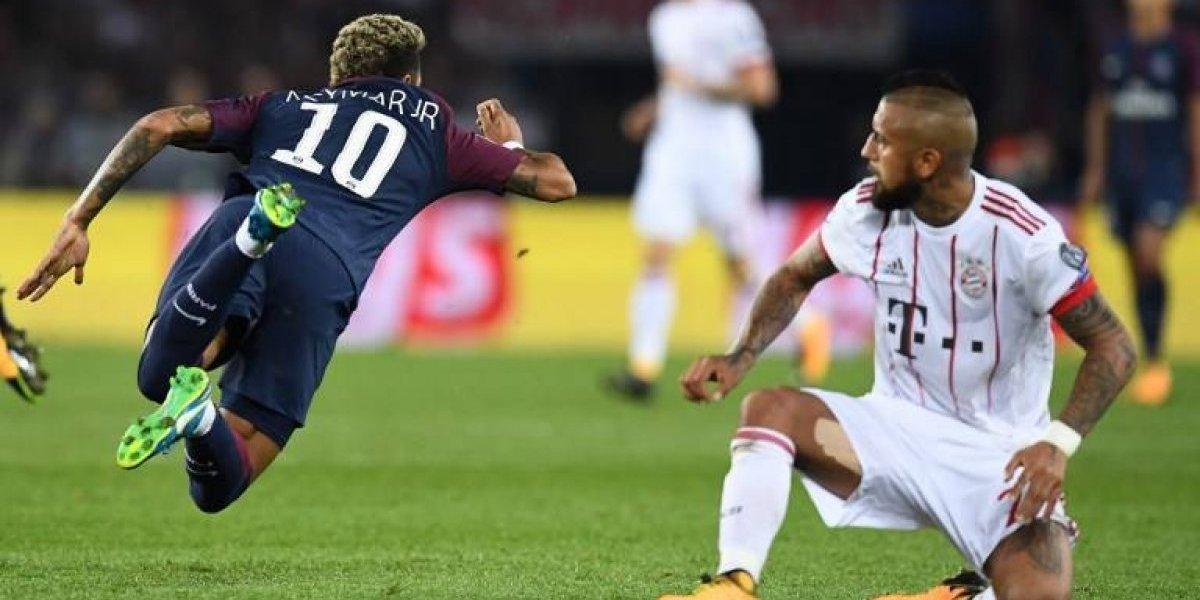 Los millones sí meten goles: el PSG le dio un baile al Bayern de Vidal en la Champions