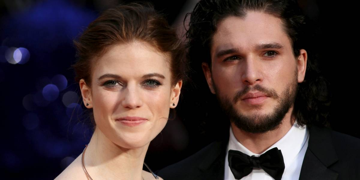 Game of Thrones: Kit Harington e Rose Leslie anunciam data do casamento