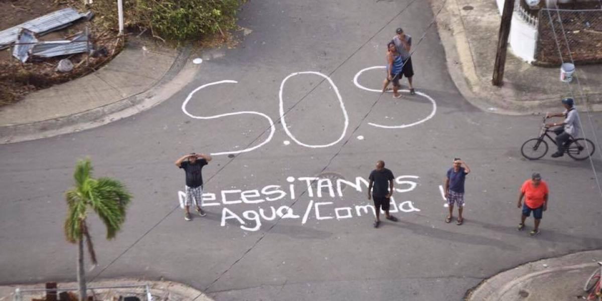 Rosselló llega en helicóptero a comunidad incomunicada de Humacao