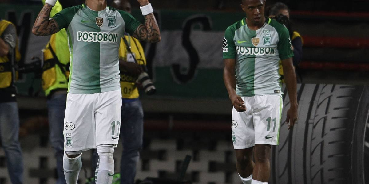 Dayro Moreno volvió a brillar en juego adelantado de Nacional