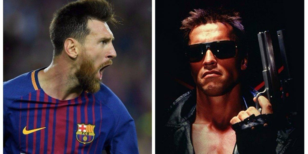Schwarzenegger nombra a Messi de una manera peculiar ¿Lo tentará a actuar?