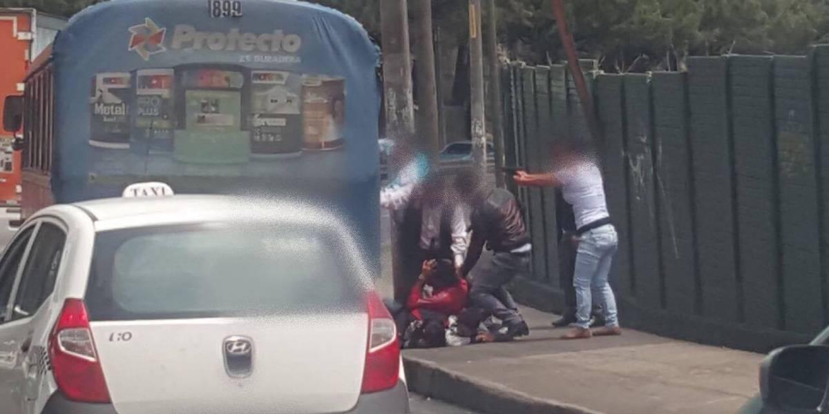Investigadores se dieron cuenta de asalto en bus de la ruta 204 y neutralizaron a los delincuentes